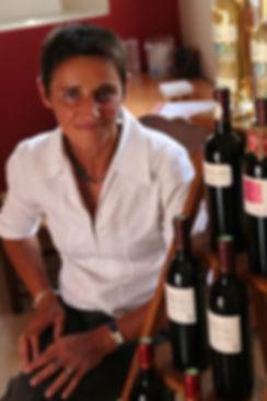 Brigitte Soulier Château La Robertie vins