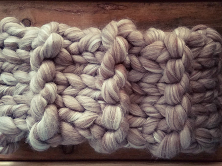 Wheat & Soy Cowl