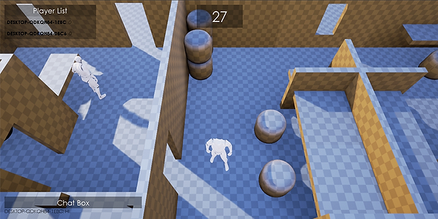 Unreal Engine 4 Steam Networked Game Template Preview