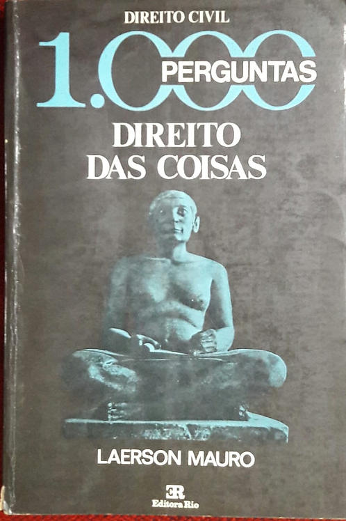 Livro Usado 1.000 Perguntas Direito Das Coisas Laerson 3464