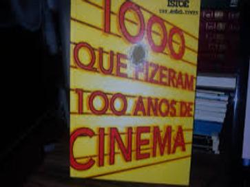 Livro Usado 1000 Que Fizeram 100 Anos de Cinema Isto É  2287