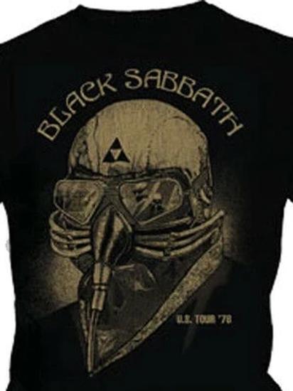 Camiseta Manga Longa Black Sabbath U.S 78 Preto Bomber BLBS1