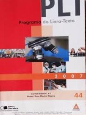Livro Novo Contabilidade I/II PLT44 Osni Moura Ribeiro 4283