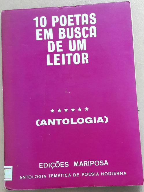Livro Usado 10 Poetas Em Busca De Um Leitor Moysés A.D. 3387