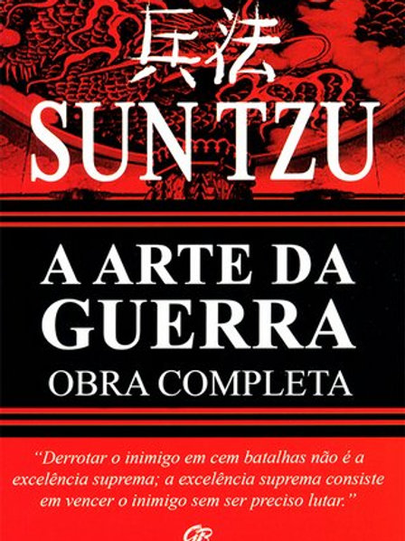 Livro Usado A Arte Da Guerra Obra Completa Sun Tzu 2685