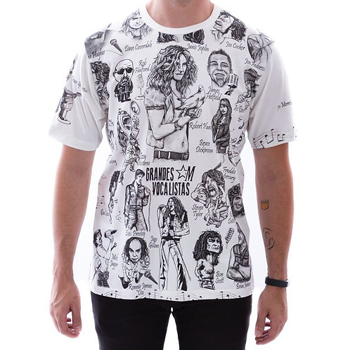 Camiseta Vocalistas Famosos Marrockus K020