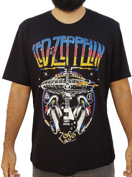 Camiseta Led Zeppelin Guitarra HCD Pwr03