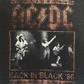 Camiseta AC/DC Back In Black  Brutal  BADB01