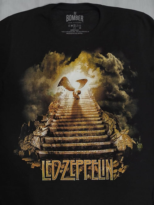 Camiseta Led Zeppelin Stairway to Heaven Bomber BOLZ1