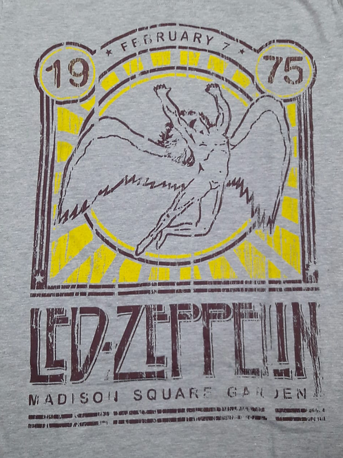Camiseta Led Zeppelin Cinza Madison Mr. Baboo  MBLM06