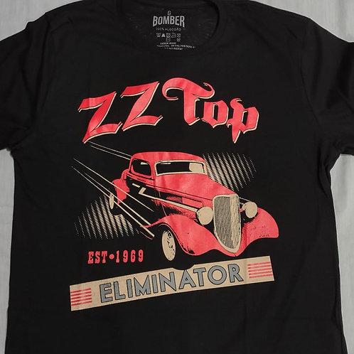 Camiseta Zz Top Eliminator Preto Bomber BOZT1