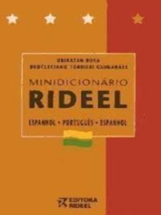 Dicionário Usado Mini Rideel Espanhol Português U. R. 1316