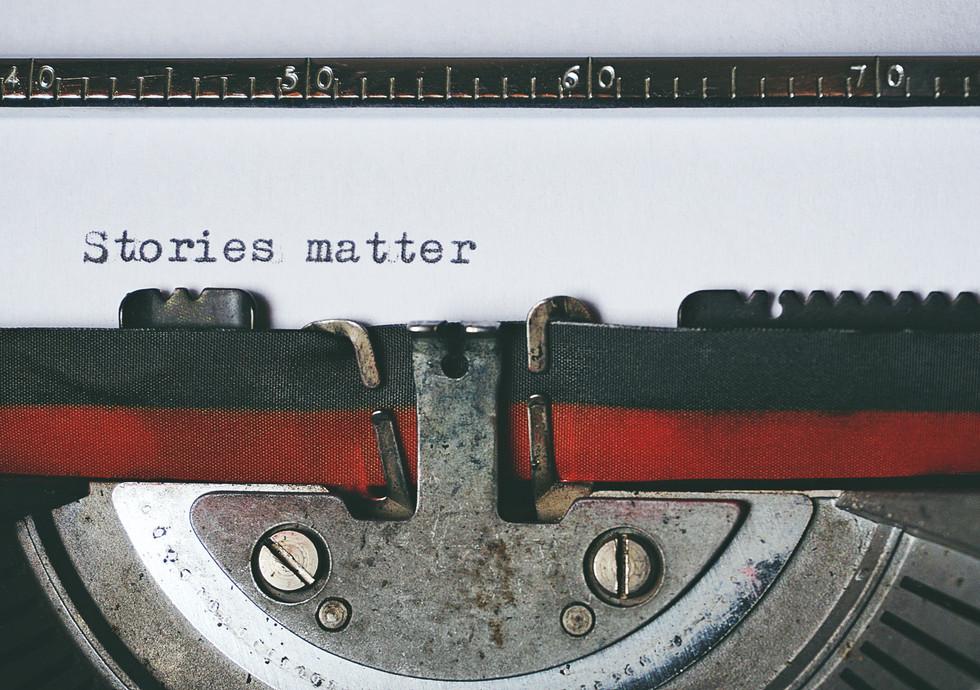 Stories do matter actually