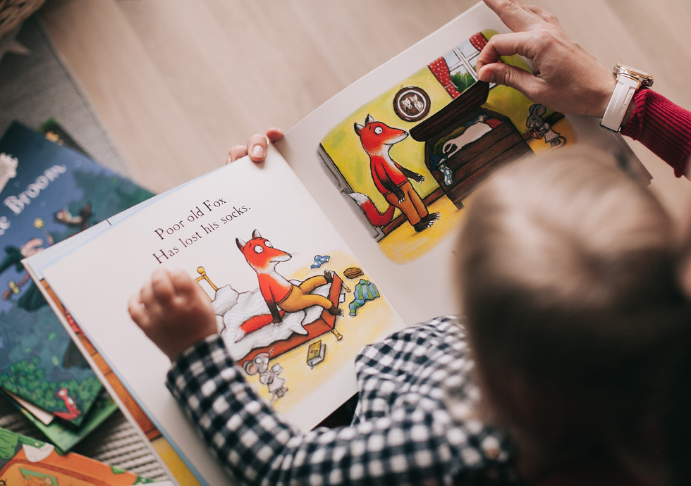 A childhood without reading is no childhood