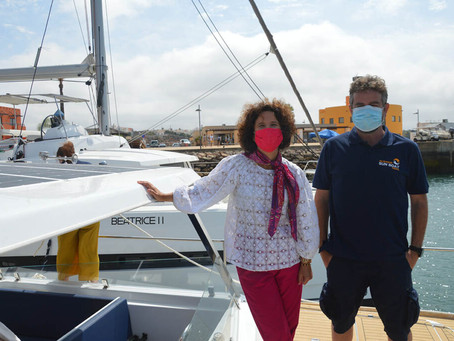 Innovation and sustainability of the new Algarve tourism sail aboard a solar boat