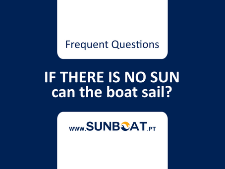 IF THERE IS NO SUN can the solar boat sail?