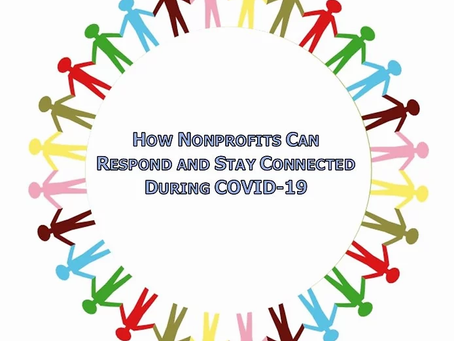How Nonprofits Can Respond and Stay Connected During COVID-19