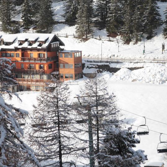 Hotel Al Foiron fronte pista da sci