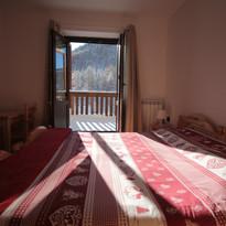 Hotel Al Foiron camera da letto