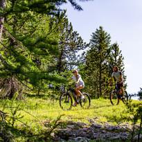 A Claviere puoi visitare la natura in Montain Bike