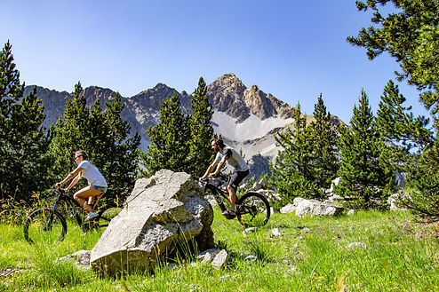 Montain Bike a Claviere Via Lattea