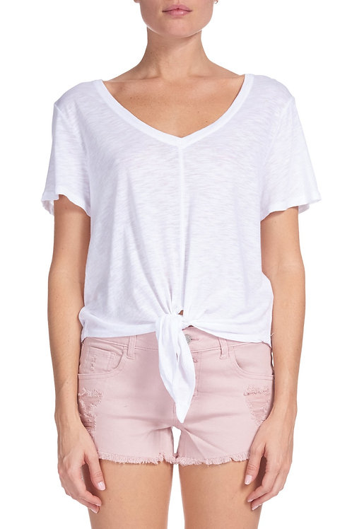 Knotty tie front top