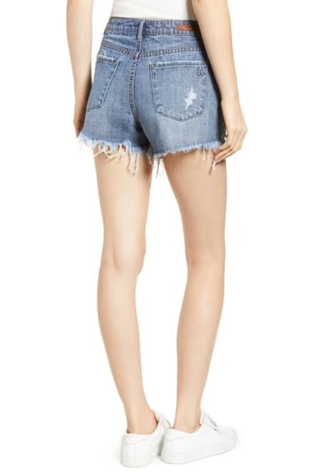 Short beach denim shorts
