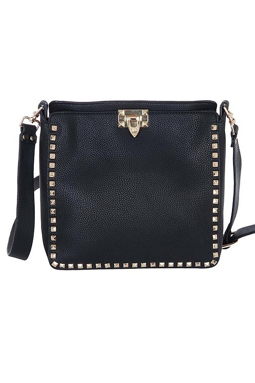 Large Studded Crossbody Bag