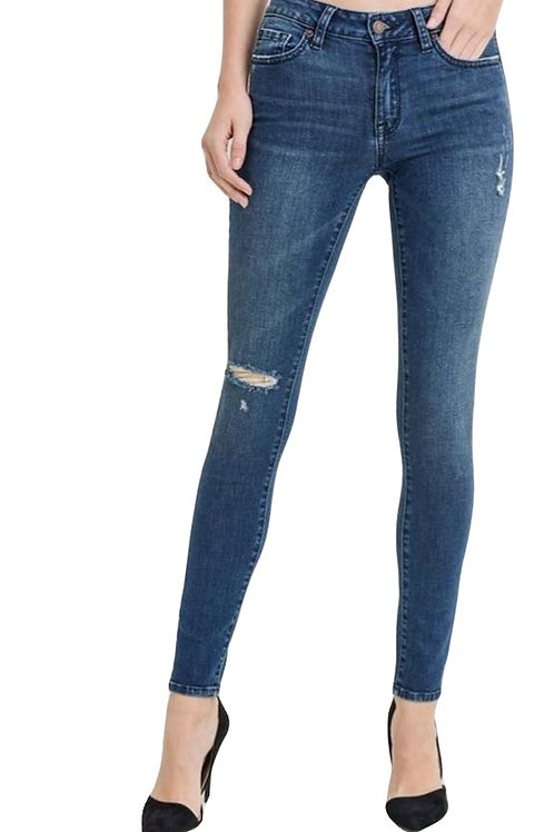 Damsel in distress skinny jeans