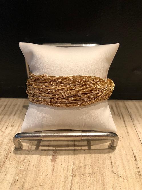 Multi strand mesh bracelet