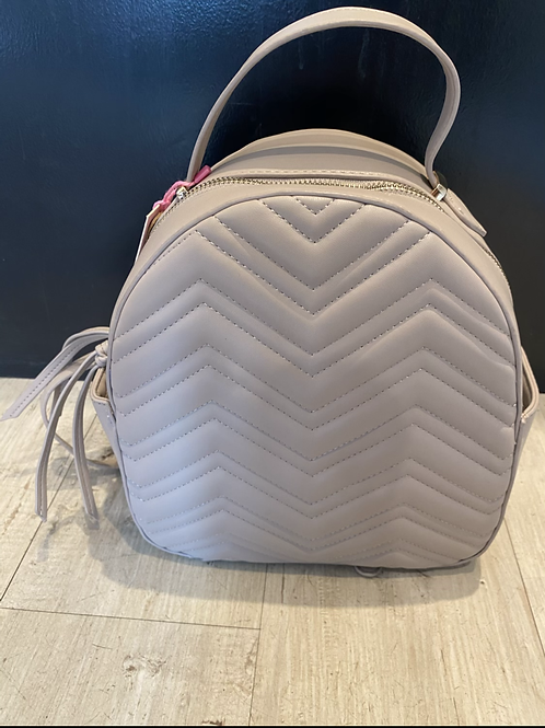 Quilted chevron mini pack