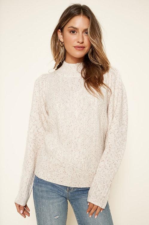K2 mock neck sweater