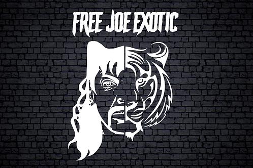 Free Joe Window Decal