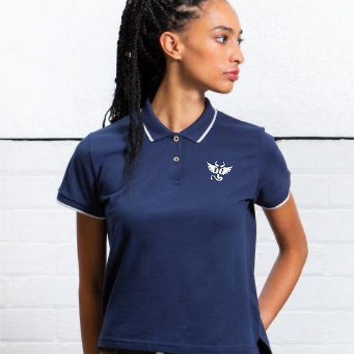 Ladies Tipped Polo Shirt