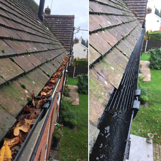 Gutter vacuuming