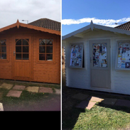 Shed painting/treatment