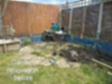 Garden Renovation Before