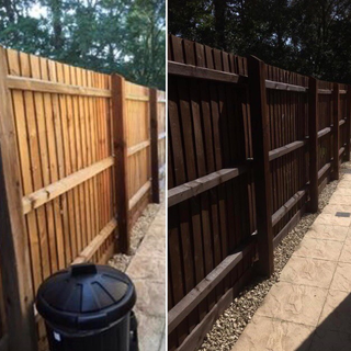 Fence treatment