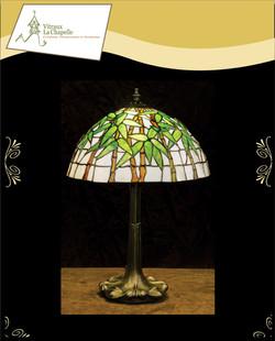 Lampe Bambou qui s'illumine