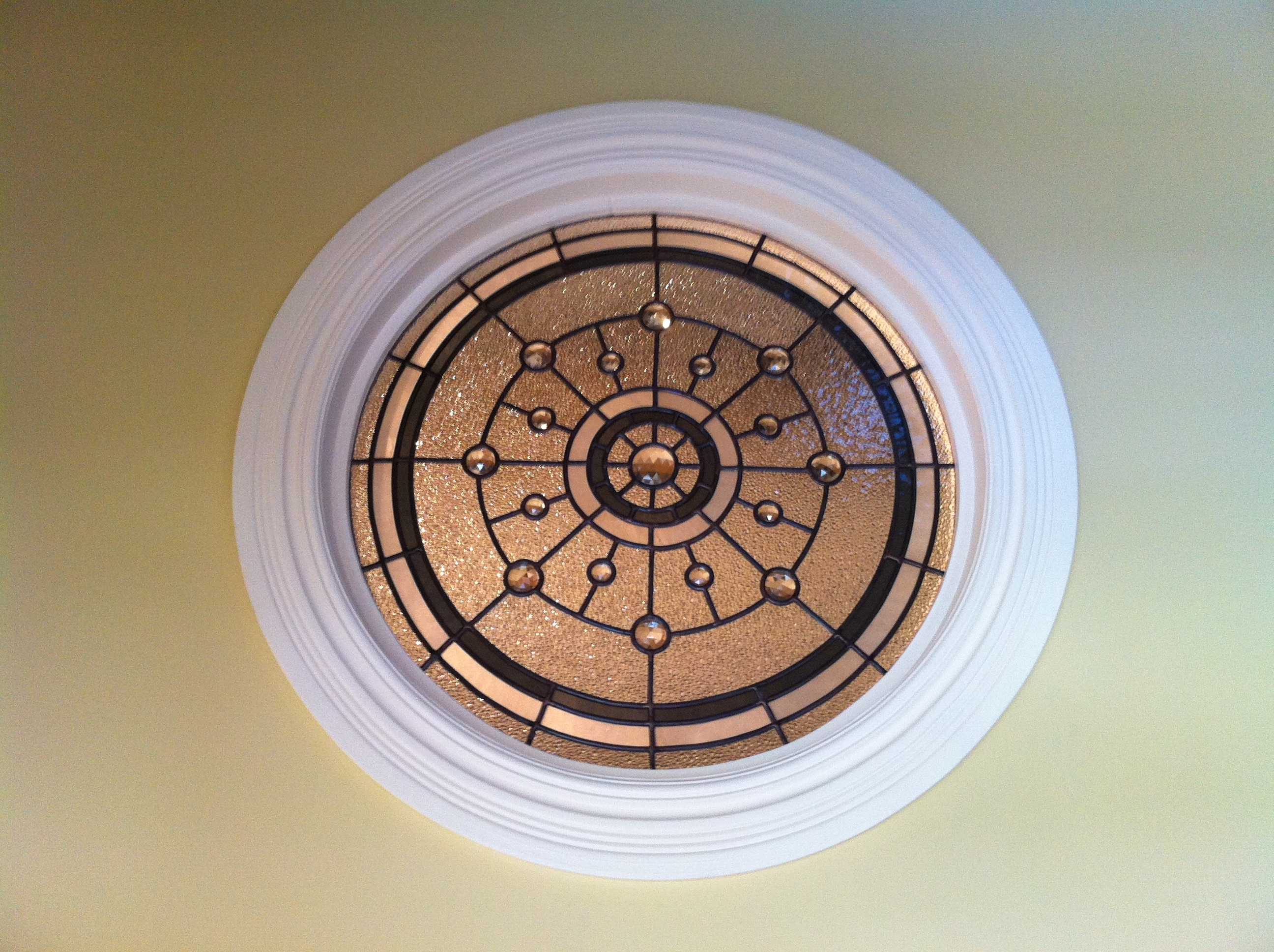 Vitrail circulaire