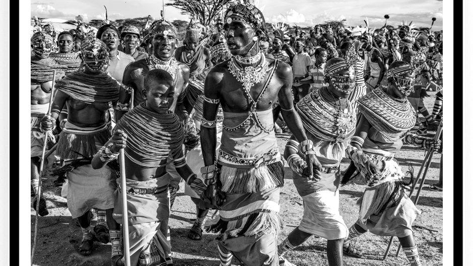 Samburu, Wedding Ceremony, 80 x 60 cm, Africa, 2018.Fine Art Print.