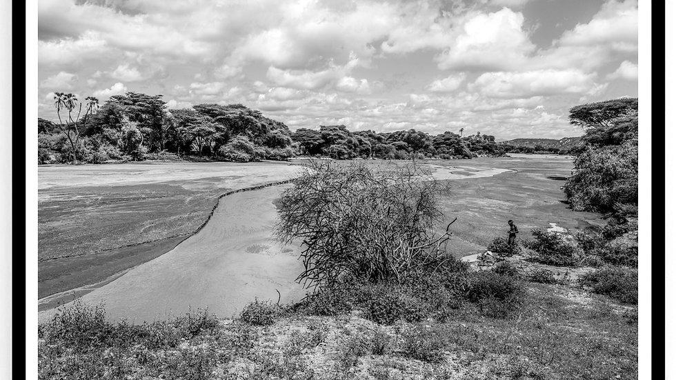 River, Samuru County, Africa, 2018. Fine Art Print. 60 x 80 cm. Edition 10.