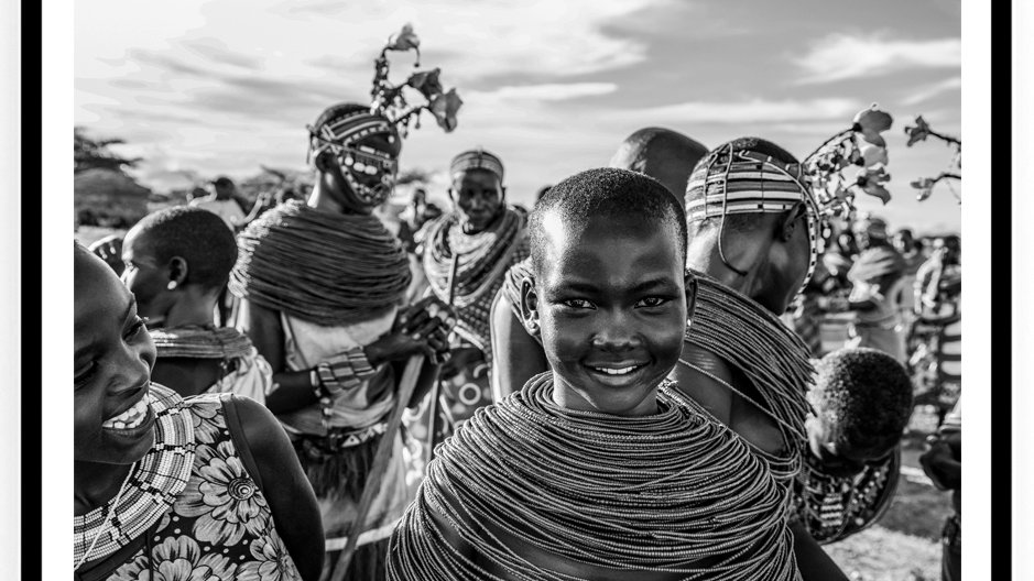 Samburu Wedding, Africa, 2018. Fine Art Print. 80 x 60 cm. Edition 10.
