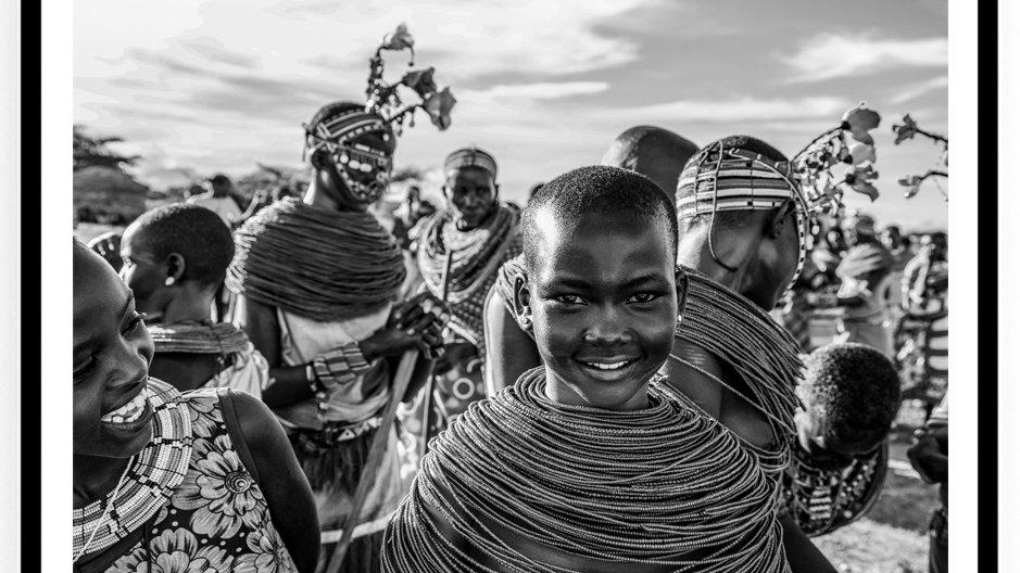 Samburu Wedding, Africa, 2018. Fine Art Print. 80 x 60 cm. Edition 10.