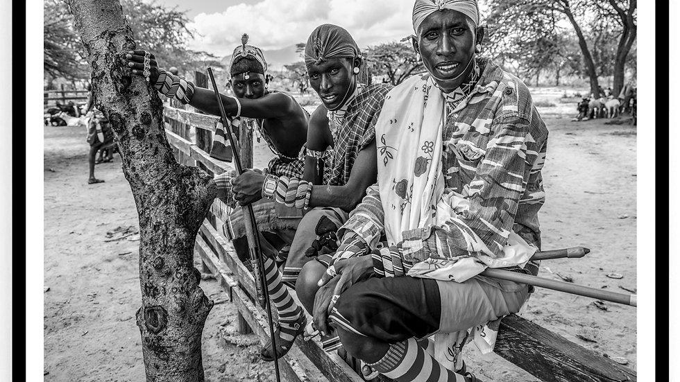 Cattle Market, Africa, 2018. Fine Art Print. 60 x 80 cm. Edition 10.