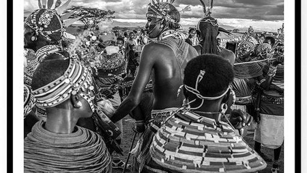 Samburu, Wedding Ceremony, 80 x 60 cm, Africa, 2018.