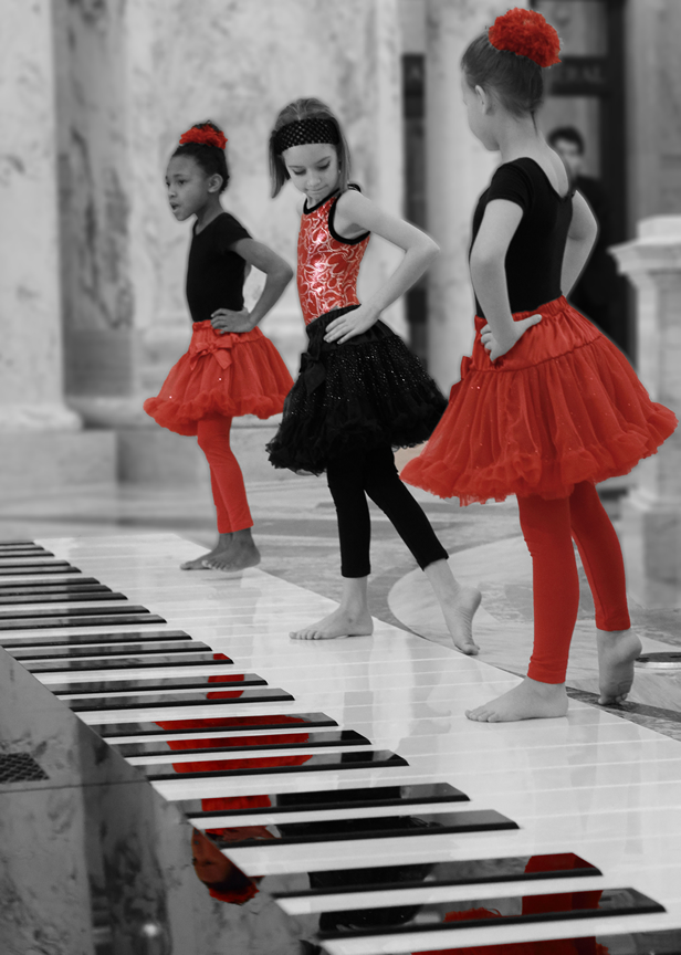 Ballet BW and Red