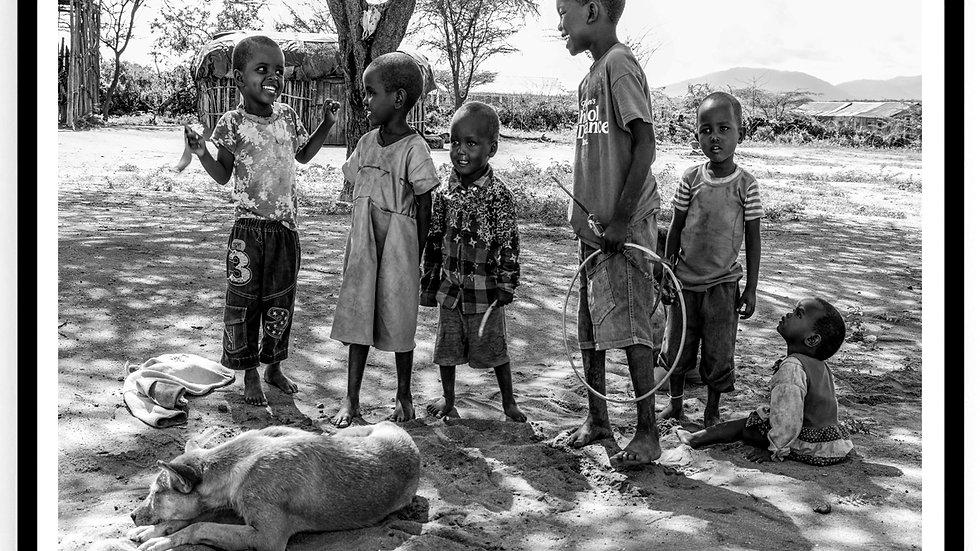 Children, Samburu County, Africa, 2018. Fine Art Print. 60 x 80 cm. Edition 10.