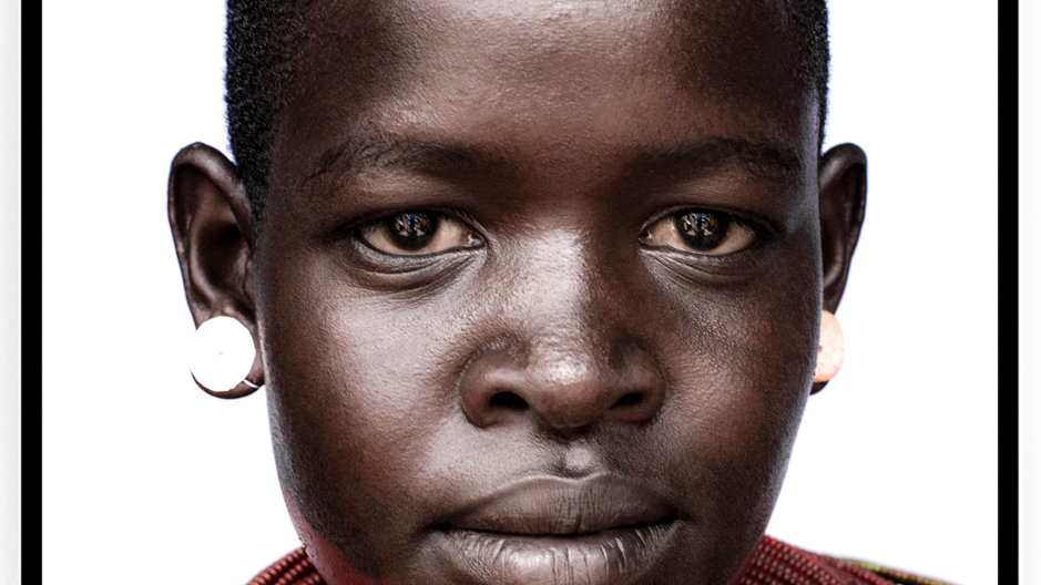 Samburu Girl, Africa, 2018. Fine Art Print. 80 x 60 cm. Edition 10.