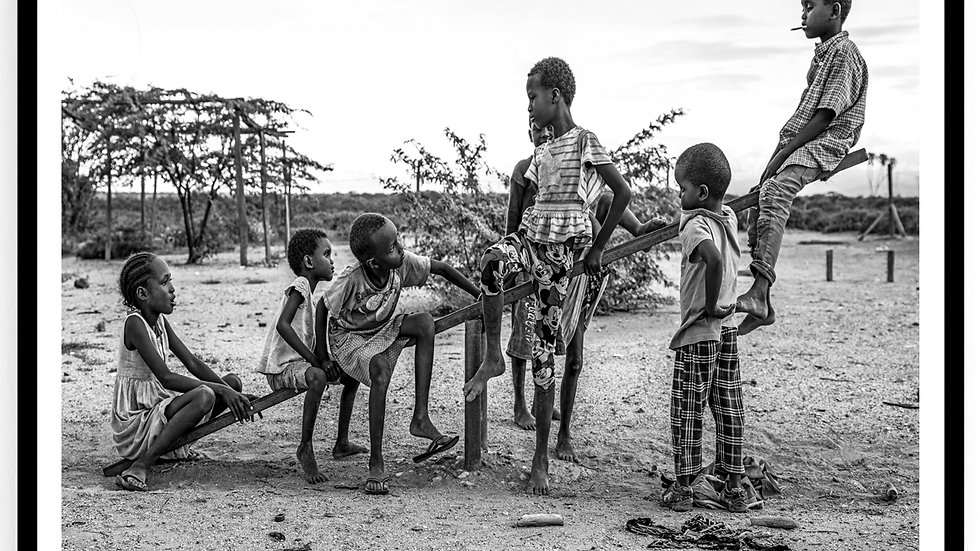 Children, Samburu County, Africa, 2018. Fine Art Print. 60 x 80 cm. Edition 10.